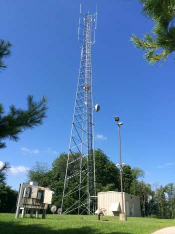 Image: Green Radio Tower